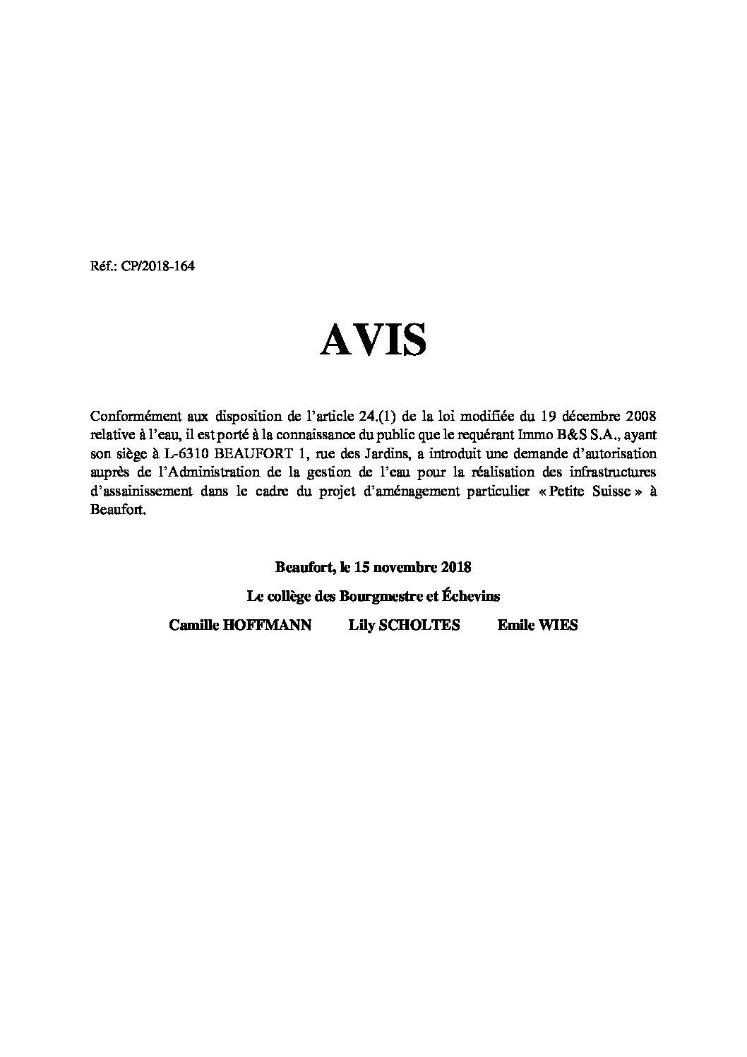 20181115_AvisEau