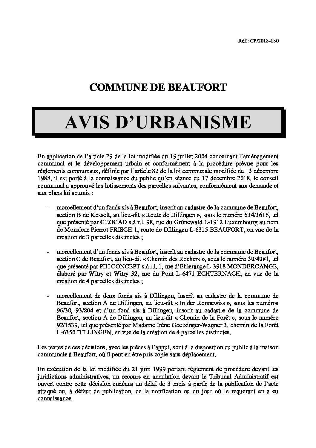 20181224_AvisUrbanisme
