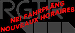 Nei Fahrpläng vum RGTR / Nouveaux horaires RGTR