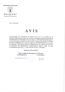 """Demande d'autorisation pour la réalisation des infrastructures d'assainissement PAP """"in den untersten Wiesen"""" Dillingen"""