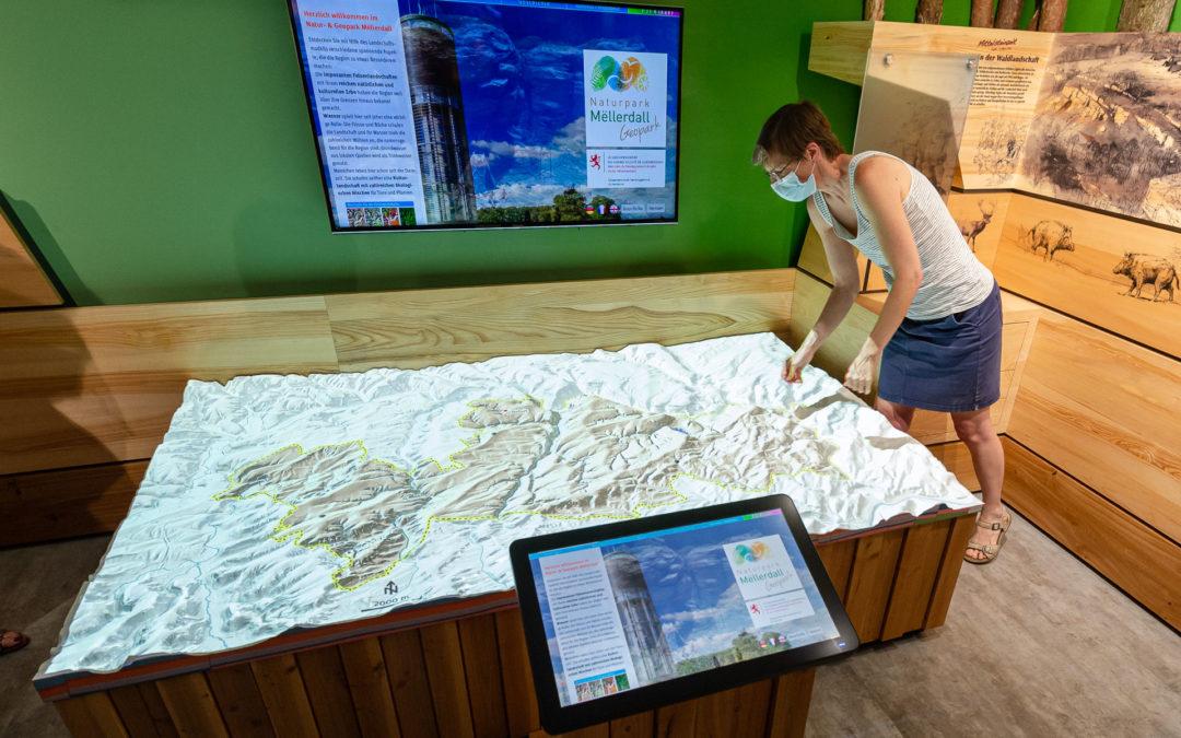 Regionale Ausstellung des Natur- und Geopark Mëllerdall